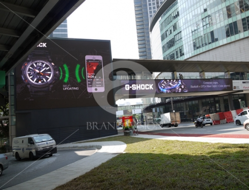 G-Shock (Outdoor Overhead Bridge Led Screen Display)