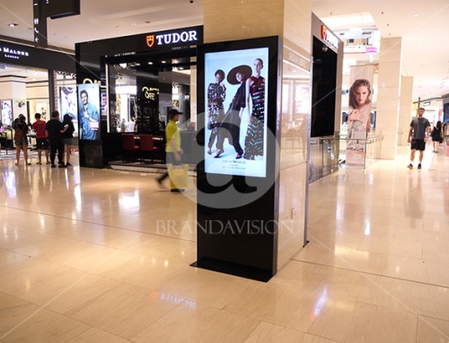 Emporio Armani (Indoor Digital Standee)