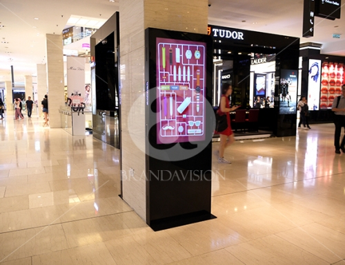Swatch (Indoor Digital Standee)