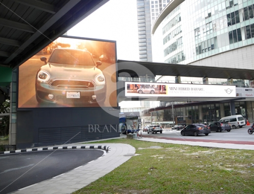 Mini (Outdoor Overhead Bridge Led Screen Display)