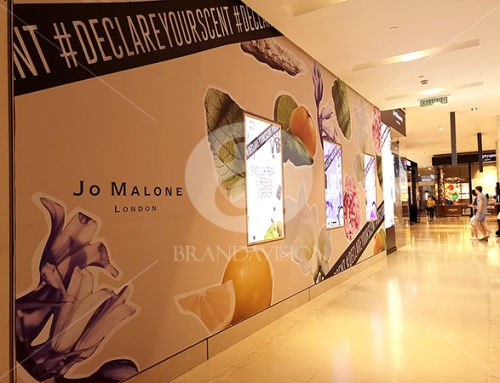 Jo Malone London (Indoor Corridor Poster Display)