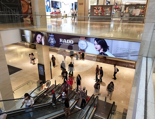 Rado (Indoor Escalator Bulkhead Display)