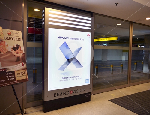 Huawei (Indoor Single Sided Standee)